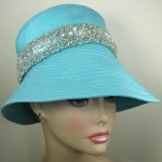 Sun Hat with Beaded Band